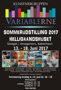 Plakat-variablerne. 2017